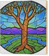 Tree Of Grace - Spring Wood Print