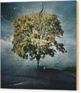 Tree Of Hope Wood Print