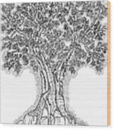 Tree Of Life 1 Wood Print