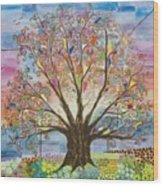 Tree Of Life #1 Wood Print