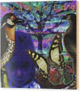 Tree Of Life  A W A K E N I N G Wood Print