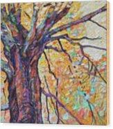 Tree Of Life And Wisdom   Wood Print