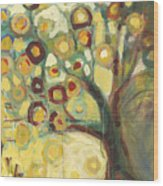 Tree Of Life In Autumn Wood Print by Jennifer Lommers