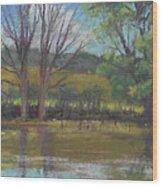 Tree Of Life Landscape Wood Print
