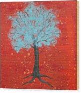 Nuclear Winter Wood Print