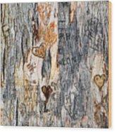Tree Of Love 2 Wood Print