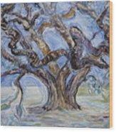 Tree Of Natural Music Wood Print