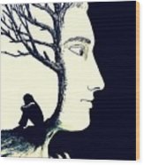 Tree Of Self Insight Wood Print