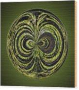 Tree Orb Wood Print