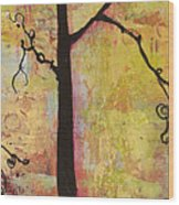 Tree Print Triptych Section 2 Wood Print by Blenda Studio