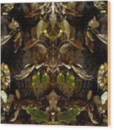 Tree Spirits Wood Print