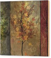 Tree Story Wood Print