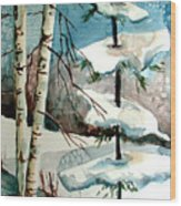 Tree Talkers Wood Print