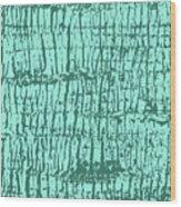 Tree Texture Turquoise Wood Print