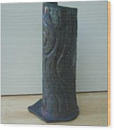 Tree Trunk Vase Wood Print