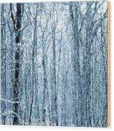 Tree Trunks Pattern Wood Print