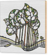 Treeland Wood Print