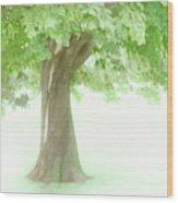 Treeness Wood Print