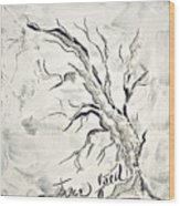 Trees Feed Wood Print