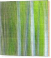 Trees Wood Print by Silke Magino