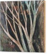 Trees That Tumble Wood Print