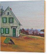 Trehaus Acadia Maine Wood Print