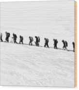 Trekking - Id 16235-142817-3386 Wood Print