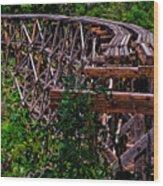 Trestle Wood Print