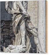Trevi Fountain - Rome Wood Print