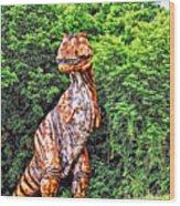 Trex Wood Print