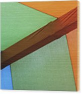 Tri Color Minimal  Wood Print