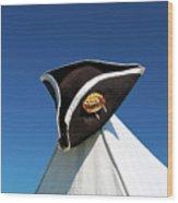 Tri-cornered Hat 6583 Wood Print