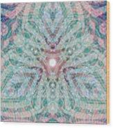 Triagonal  Wood Print
