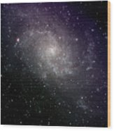 Triangulum Galaxy Wood Print
