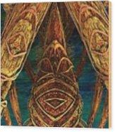 Tribal Ancestors Wood Print