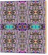 Trendy Tribal Wood Print