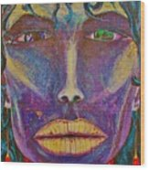 Tribal Wood Print