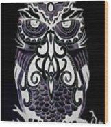 Tribeowl Reverse Wood Print