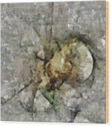 Tribrachic Constitution  Id 16098-055655-69840 Wood Print