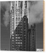 Tribune Tower 435 North Michigan Avenue Chicago Wood Print