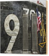 Tribute 911 Wood Print by Peter Chilelli