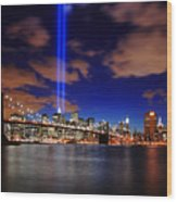 Tribute In Light Wood Print