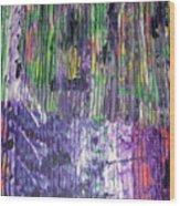 Tribute To Prince Wood Print