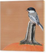 Trick Or Tweet. Wood Print