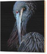 Tricolor Wood Print