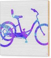Tricycle Art Wood Print