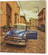 Trinidad Chevy Blues  Wood Print