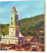 Trinidad Church Cuba Wood Print