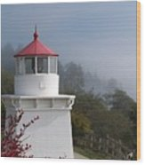 Trinidad Head Lighthouse Wood Print