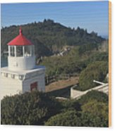 Trinidad Head Memorial Lighthouse, California Lighthouse Wood Print